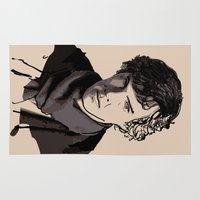 sherlock Area & Throw Rugs featuring Sherlock by joshuahillustration