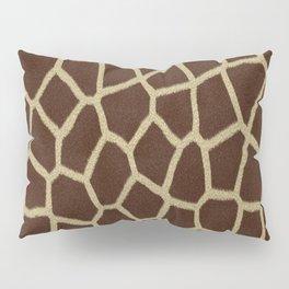 primitive safari animal brown and tan giraffe spots Pillow Sham