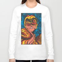 fear and loathing Long Sleeve T-shirts featuring Fear and Loathing  by Katrina Berkenbosch
