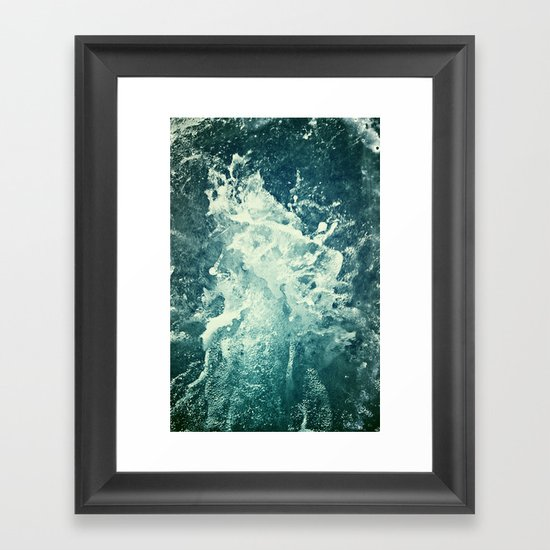 Water IV Framed Art Print