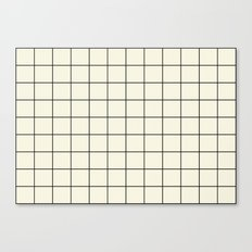 simple grid Canvas Print