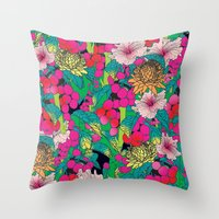 fruit Throw Pillows featuring FRUIT by KIMENTE
