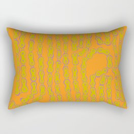 Bike Chain - Martini Olive Rectangular Pillow