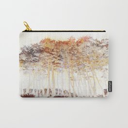 Monterey Cypress (Cupressus macrocarpa) abstract near Point Reyes California Carry-All Pouch