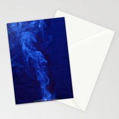 Blue Smoke Stationery Cards