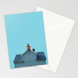 Poppins tea Stationery Cards