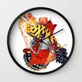 Aqua_novella_young hearts run free Wall Clock