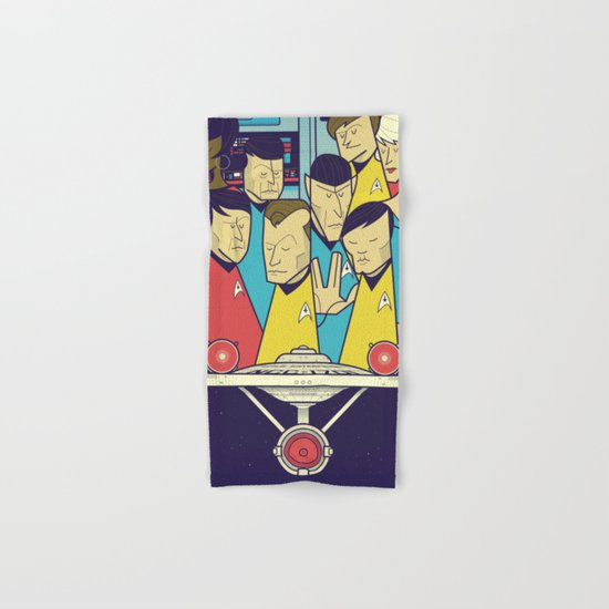 Star Trek Hand & Bath Towel