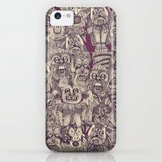 gargoyles purple Slim Case iPhone 5c