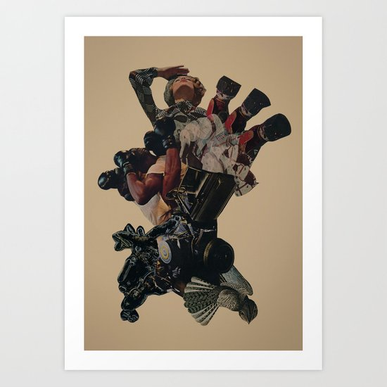 Down with the Ship Art Print