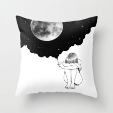 3 Minute Galaxy Throw Pillow