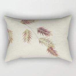 oat grass leaves Rectangular Pillow