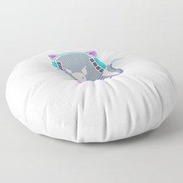Geh Mir Aus Dem Weg Du Unnötiger Sozialkontakt Floor Pillow