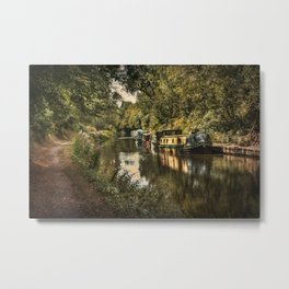 The Kennet and Avon at Pewsey Metal Print
