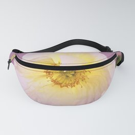 White Poppy at Sunset by Reay of Light Fanny Pack