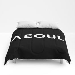 Seoul [Hangul] Comforters