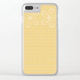 Skin Tone Lace Clear iPhone Case