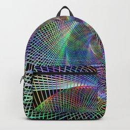 Fractal spiral Backpack