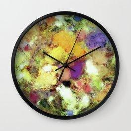 Forgotten petals Wall Clock