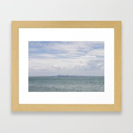 View to the You Yangs Framed Art Print