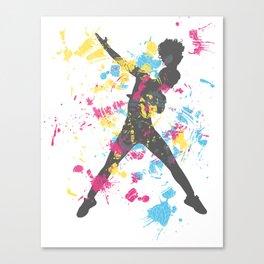 Hip Hip Dancer Canvas Print