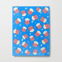 Popcorn Boxes Metal Print