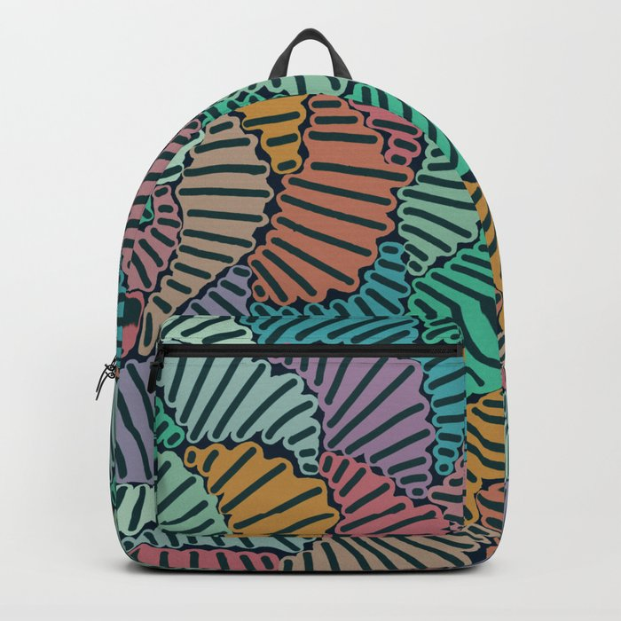 Combined Graffiti Backpack
