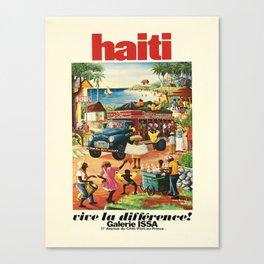 alt haiti vive la difference galerie Canvas Print