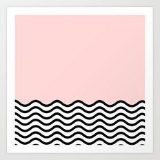 Warm Wave; Art Print