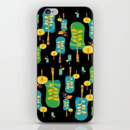 TWITTERING IN THE TREES II iPhone Skin