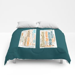 Life Path 11 (color background) Comforters