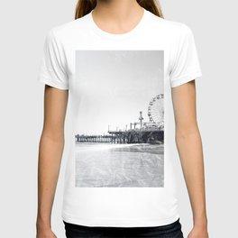 Frosted Santa Monica Pier T-shirt