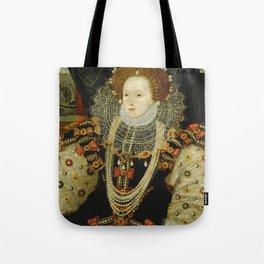 Portrait of Elizabeth I Tote Bag