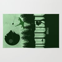 jedi Area & Throw Rugs featuring Return of the Jedi by Mateus Quandt