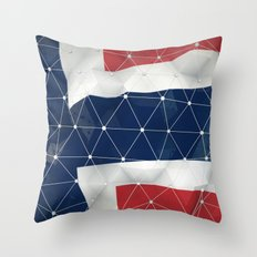 Flag of Norway Throw Pillow