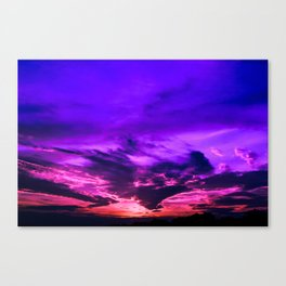 Santa Rosa Sunset Canvas Print