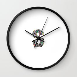 The Modernist S Wall Clock