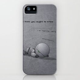 Android Down iPhone Case