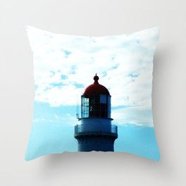 Top of the Lighthouse Throw Pillow