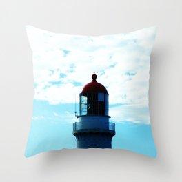 Top of the Lighthouse Throw Pillow