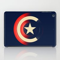 captain silva iPad Cases featuring Captain by Ian Wilding