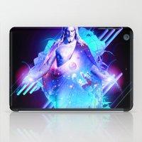 christ iPad Cases featuring Cosmic Christ by Matt Bryson
