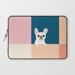 Little_French_Bulldog_Love_Minimalism_001 Laptop Sleeve