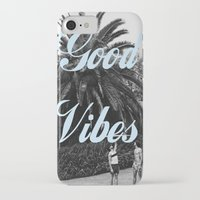 good vibes iPhone & iPod Cases featuring good vibes by Hannah