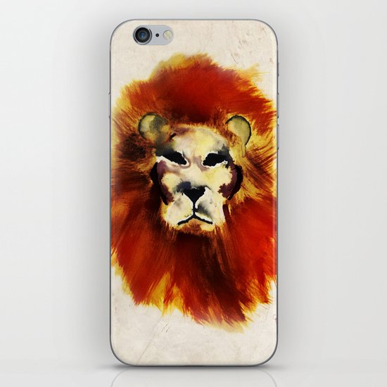 Lion ink iPhone & iPod Skin