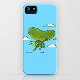 The Super Pickle iPhone Case