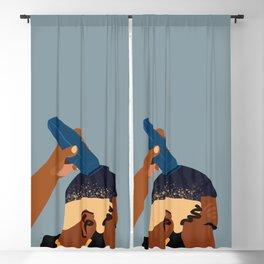 Ocean Blackout Curtain