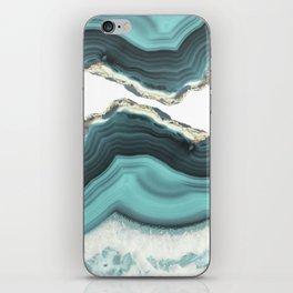 Sea Agate iPhone Skin