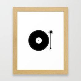 gramofon Framed Art Print