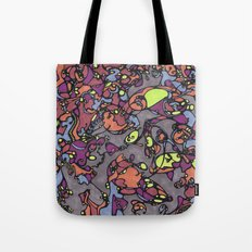 glass stained Tote Bag